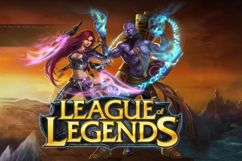 Welcome to the Summoner's Rift. League_of_Legends_LOGO1