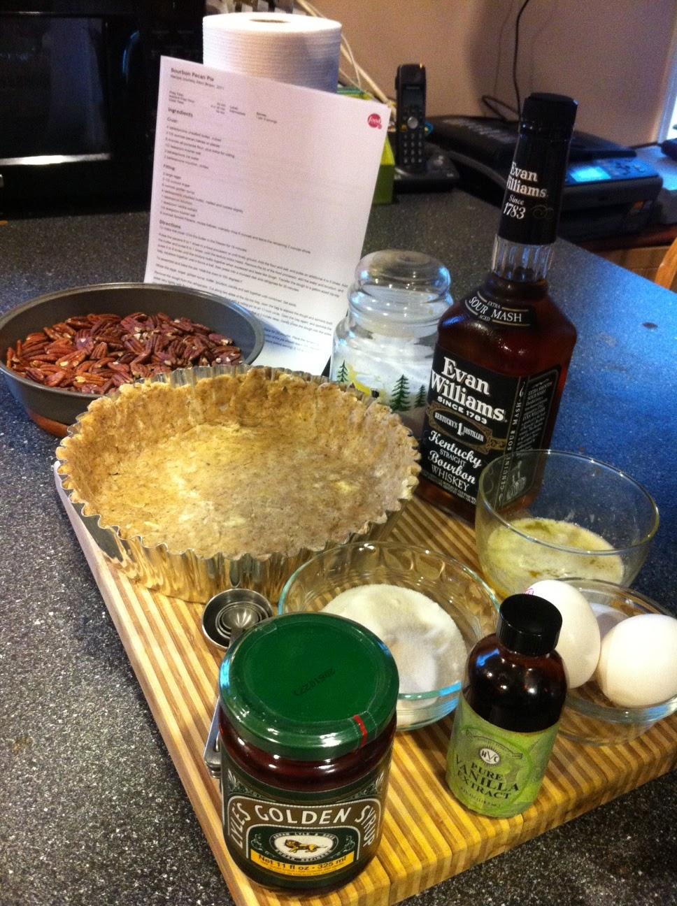 Bourbon Pecan Pie (Alton Brown) Recipe - Details, Calories ...