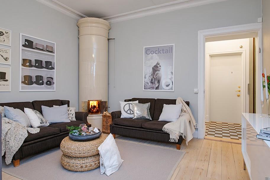 amenajari, interioare, decoratiuni, decor, design interior, apartament 2 camere, spatii mici, scandinav, culoare, living , sufragerie