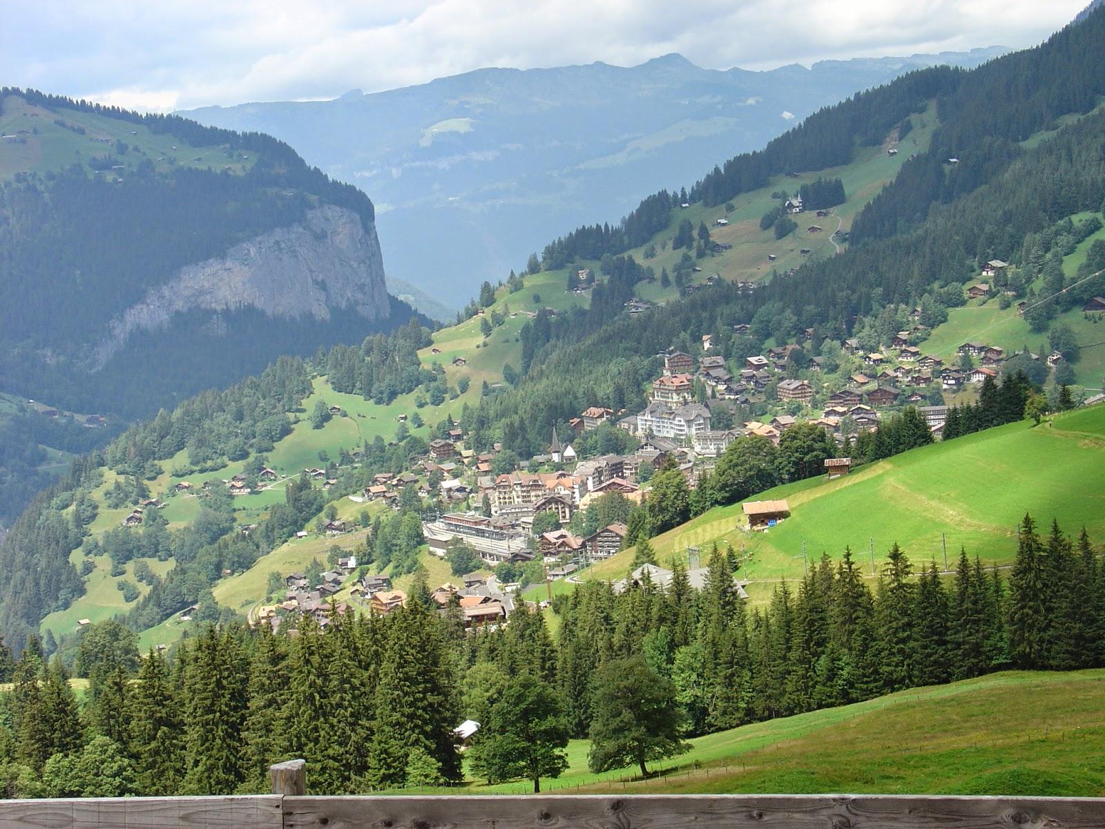 تعرف على أجمل قرية في سويسرا