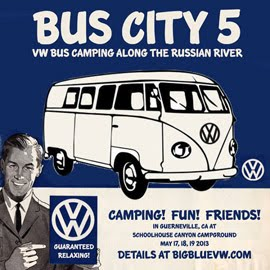 Bus City 2013 - the 5th anniversary campout