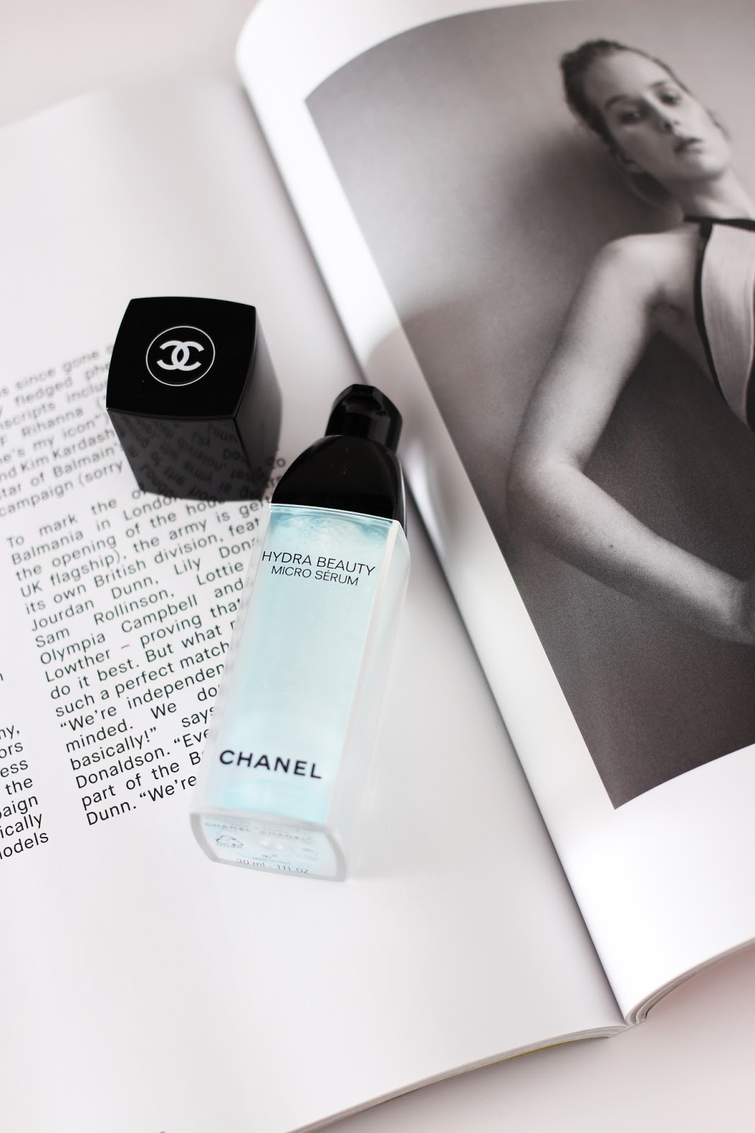 Chanel Hydra Beauty Micro Serum Skincare for Hydration and plump skin