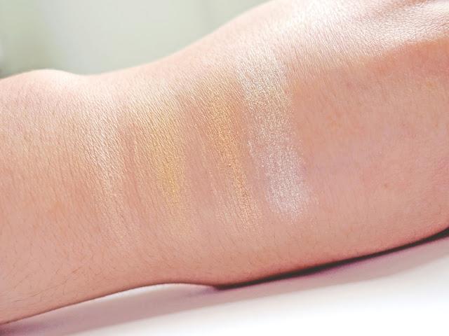 Makeup Revolution Ultra Contour Palette Swatches