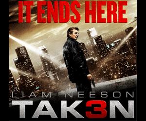 Film Taken 3 (2015) Cover