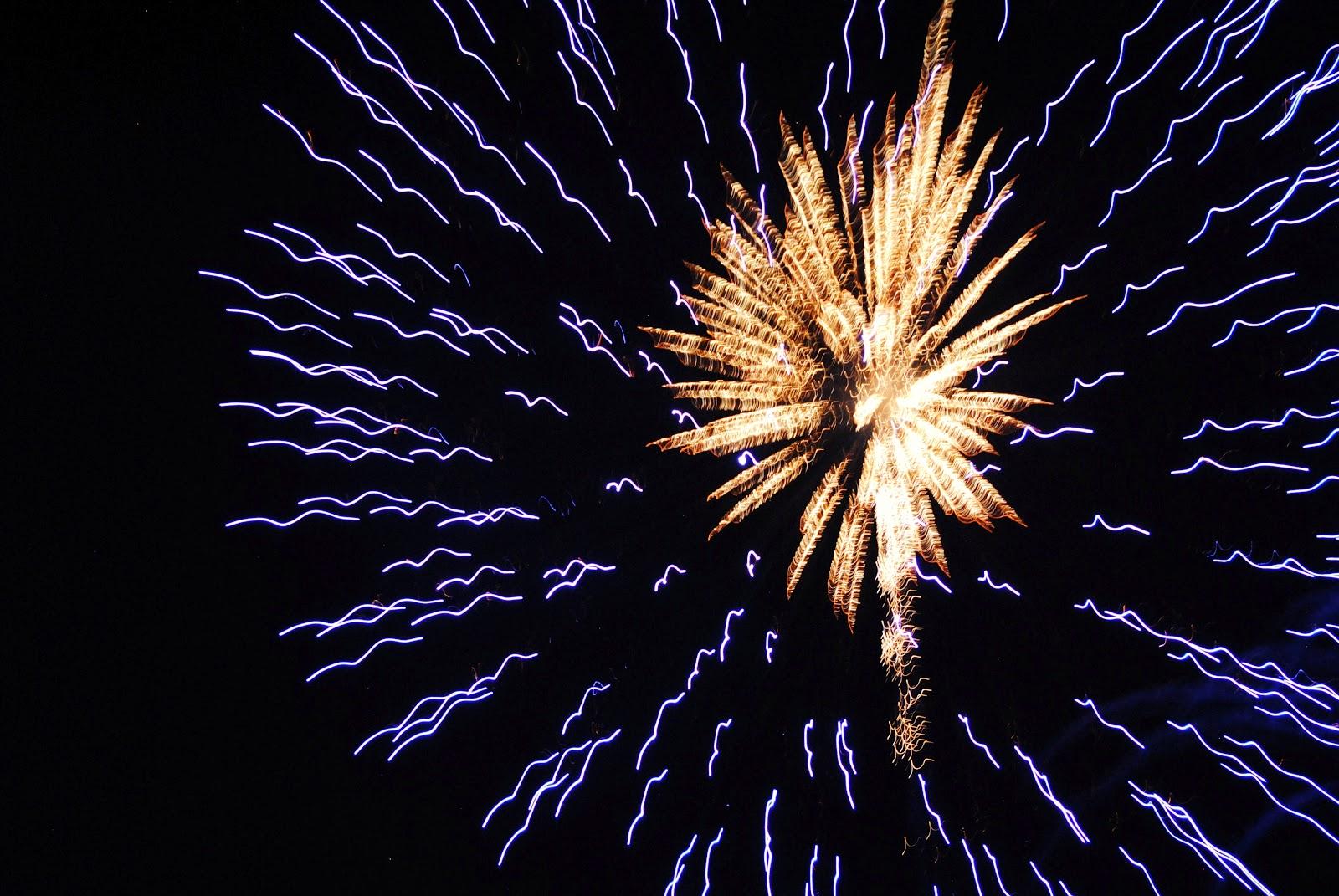 Fireworks Corner Border Fireworks