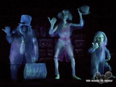 JK's TheatreScene: The Theatricality of Disney: The Haunted Mansion