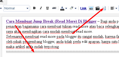 Cara Membuat Jump Break (Read More) Di Blogger