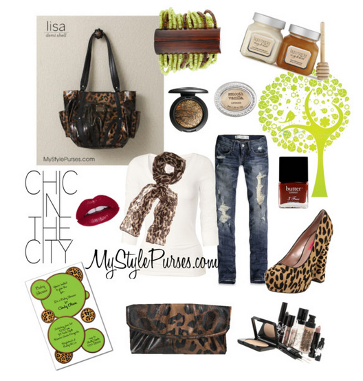 Get Pricing / Order the Miche Lisa Demi Shell Leopard Purse and Leopard Wallet