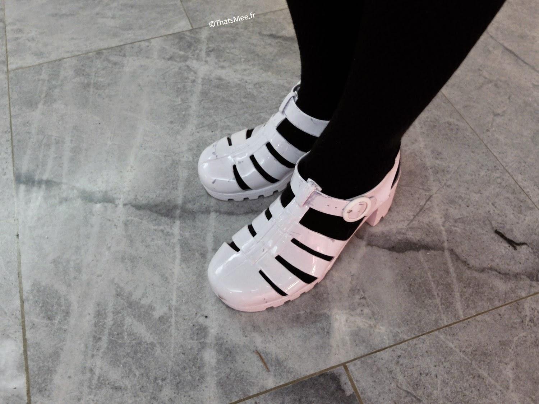 Look Tamarah, Shoes Méduses American Apparel street style ThatsMee.fr