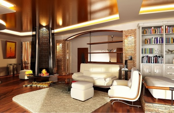 Top 10 catalog of modern false ceiling designs for living room