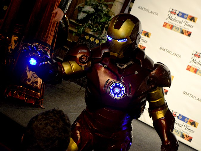 Dragon Con Night at Medieval Times 2015. Iron Man