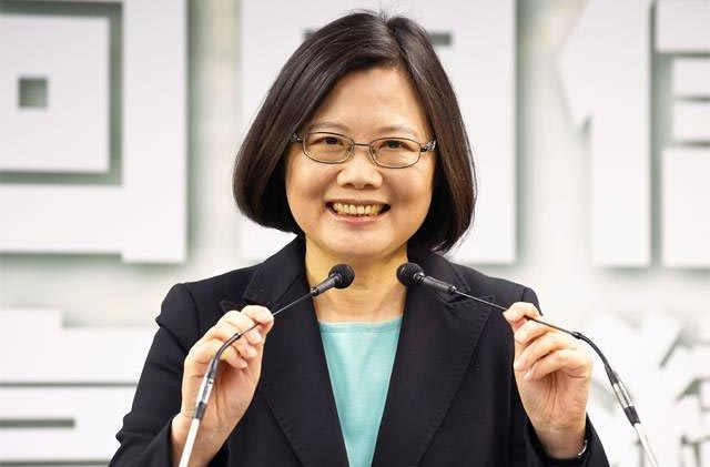 59-year-old Ms Tsai Becomes Taiwan's First Female President (Photo)