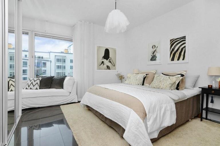 Hogares frescos dise o escandinavo brillante apartamento for Diseno escandinavo interiores