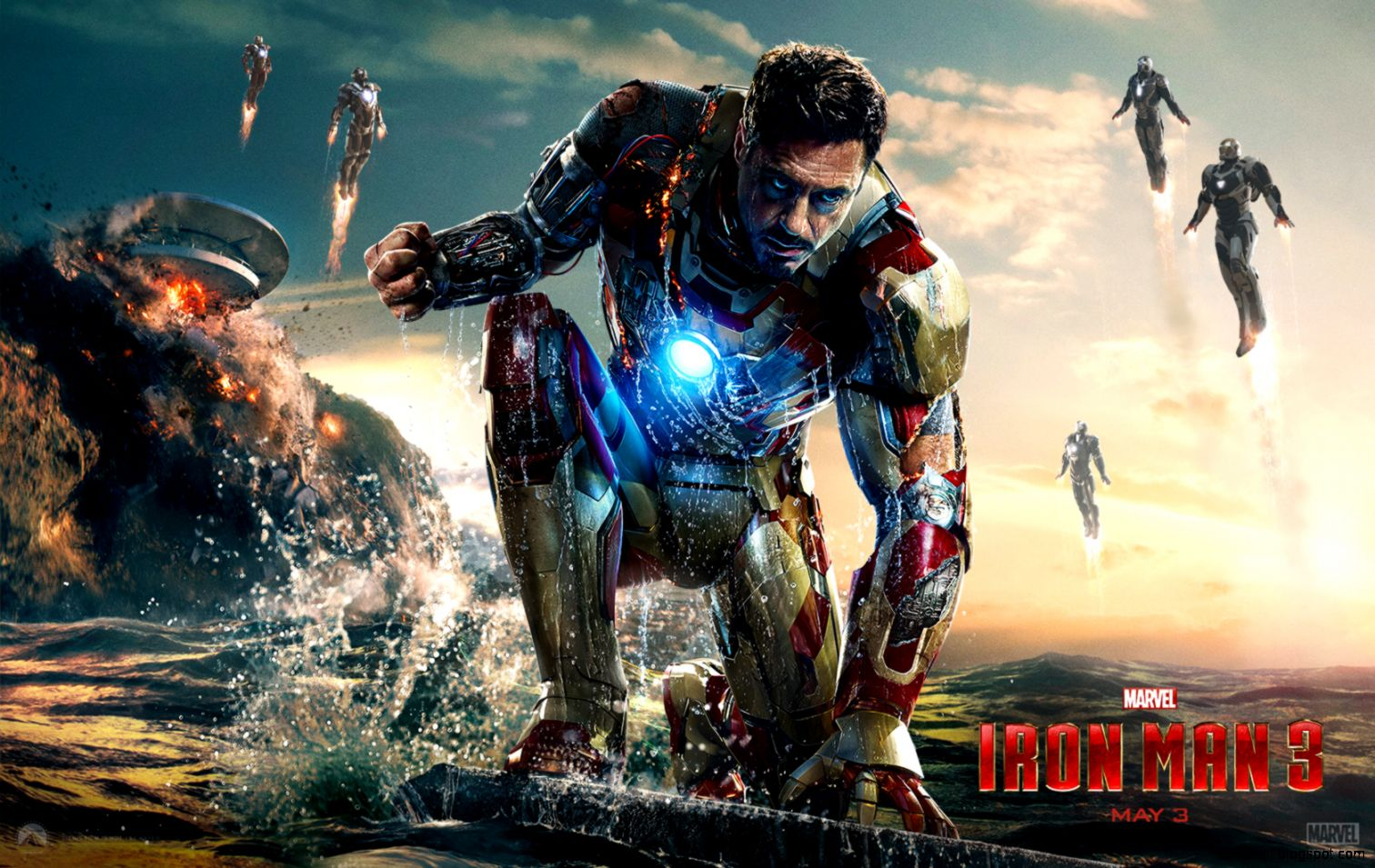 Iron Man Desktop Wallpaper   Iron Man Images New Wallpapers