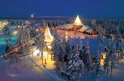 Santa Claus Amusement Park Arctic Cirlce Santa Claus Village
