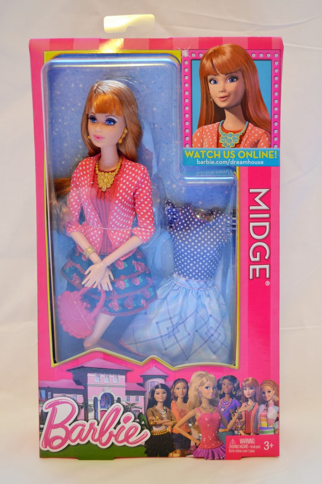 The Doll Grotto Barbie Life In The Dreamhouse Midge