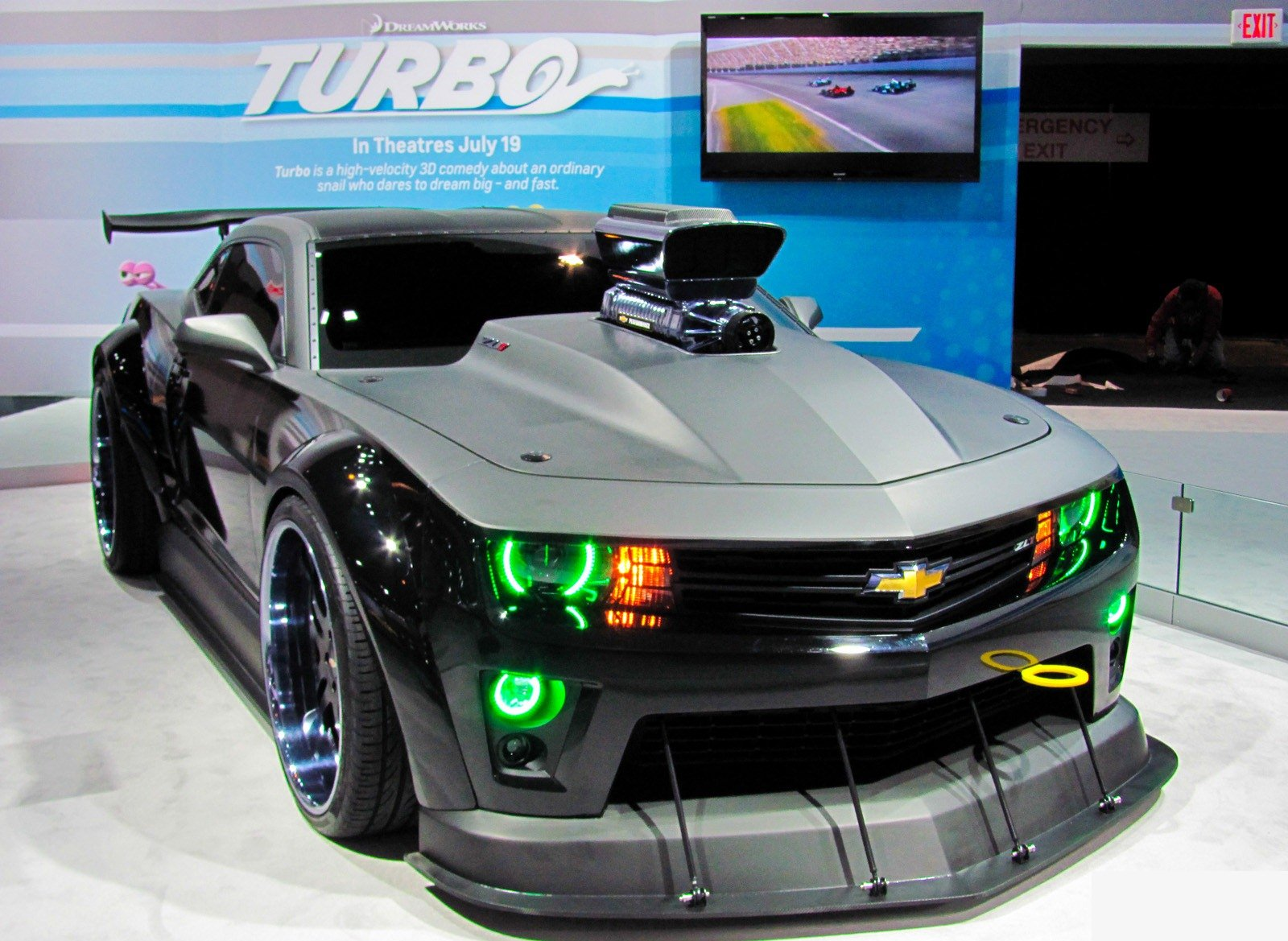 Chevrolet Camaro Overdone for 'Turbo' The Movie