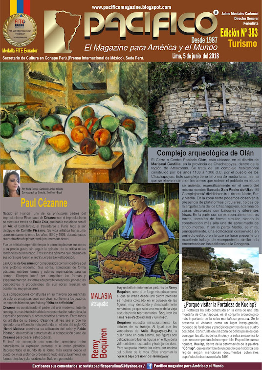 Revista Pacifico Nº 383 Turismo