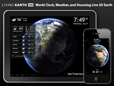 iPhone app - Living Earth