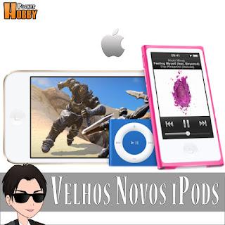 Pocket Hobby - www.pockethobby.com - Hobby News - Velhos Novos iPods.
