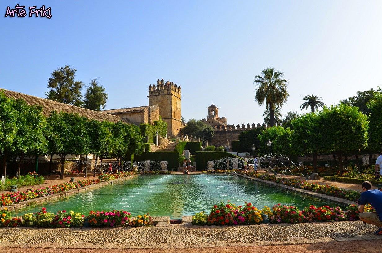 Alcazar de los Reyes Cristianos jardines Cordoba