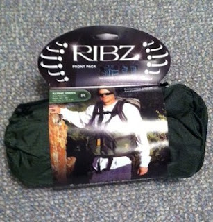 Ribz Front Pack in carrying case