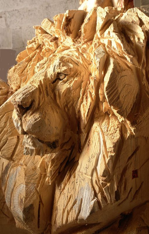 Learn wood carving animals artwork