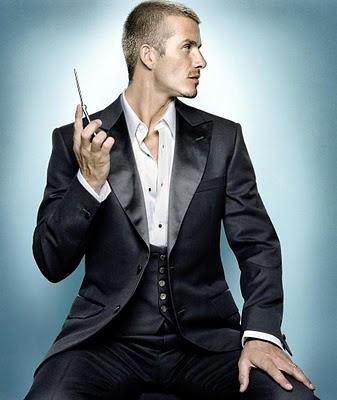 David Beckham hairdo