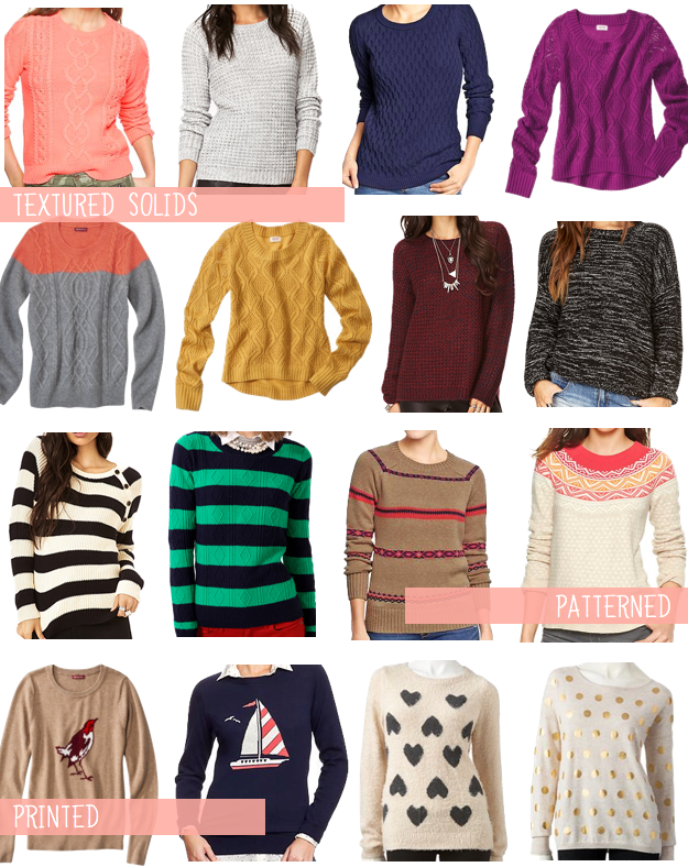 Different Types Of Knit Sweaters 25