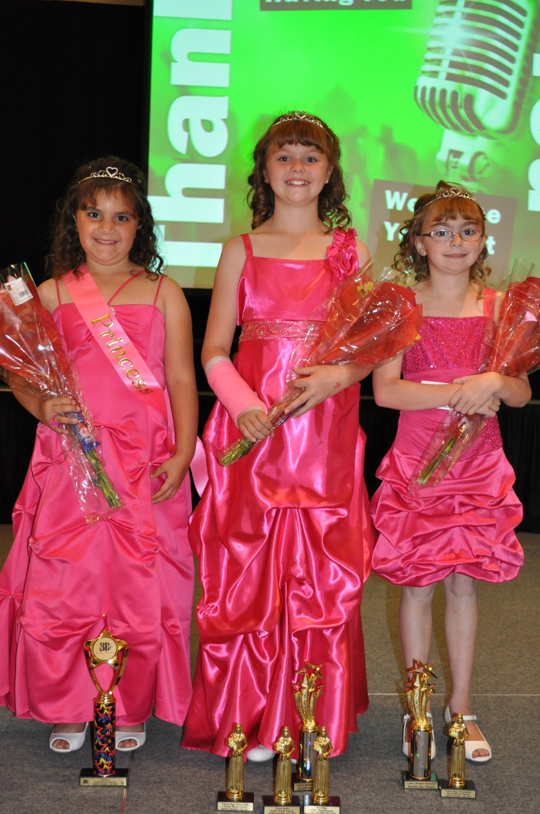 5 small children i love being able to share good things i am so proud of the girls they did a beauty pageant and did wonderfully the first category was rockstar and then