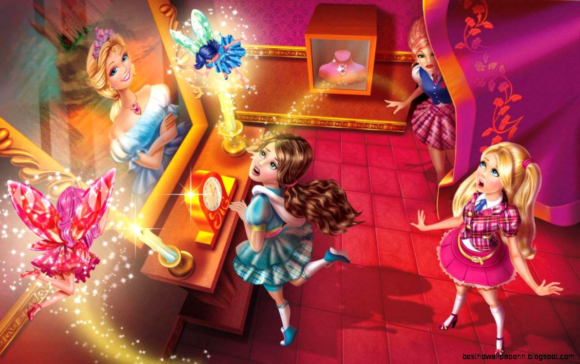 barbie princess charm school wallpaper for desktop