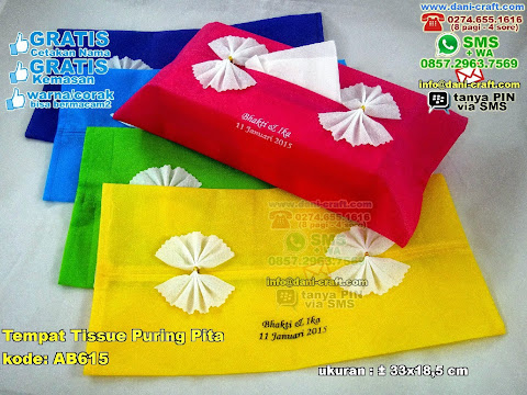 Tempat Tissue Puring Pita