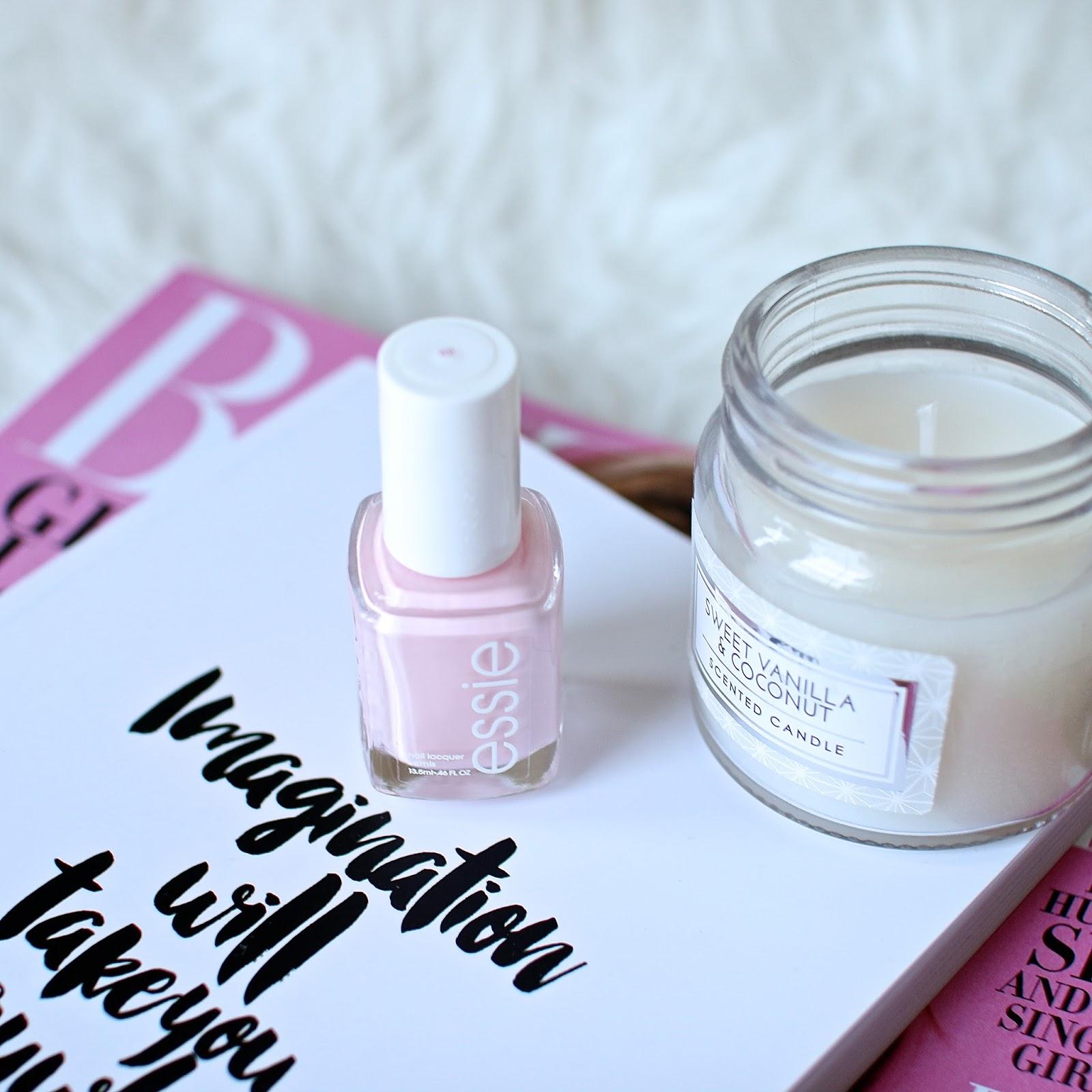 pale pink essie nail polish in fiji