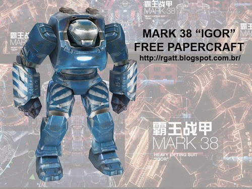Iron Man Mark 38 'Igor' Papercraft