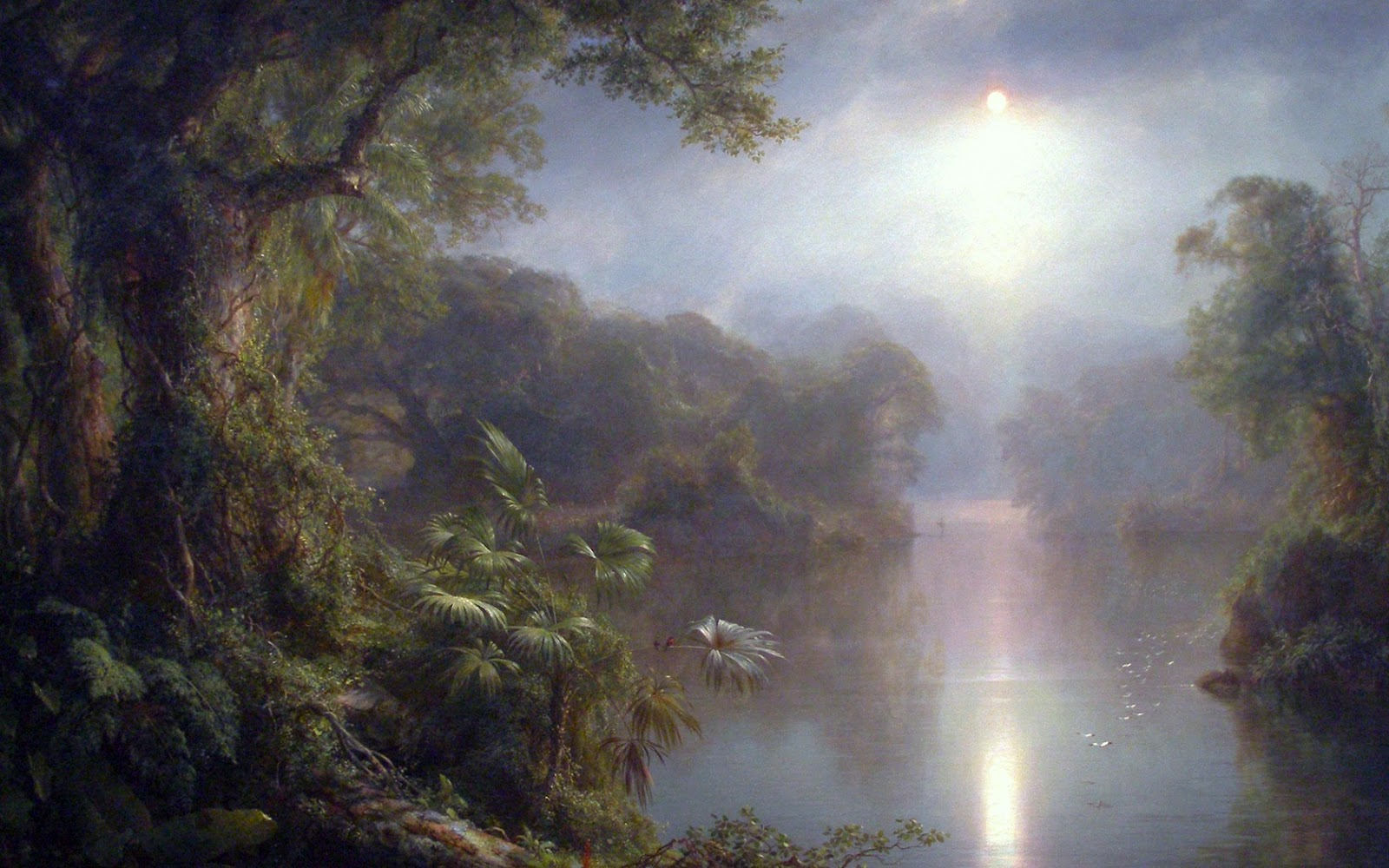 19th century american paintings frederic edwin church ctd for Frederick church paintings