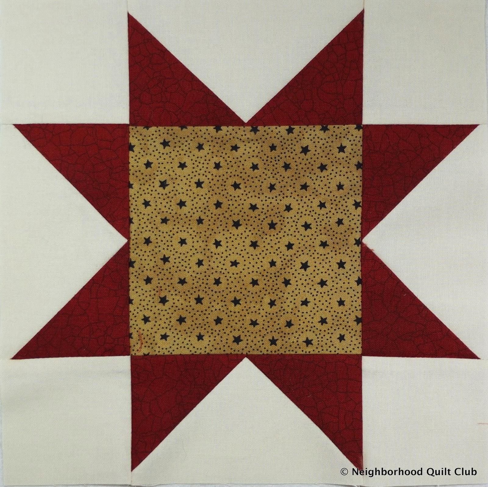 North Star - Quilt Block Tutorial