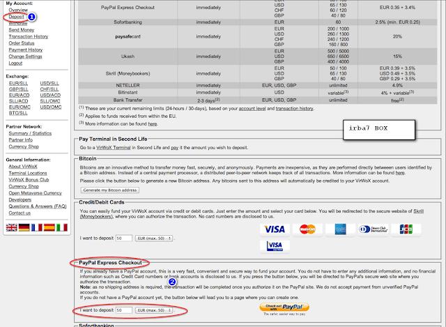 شراء البيتكوين ببايبال