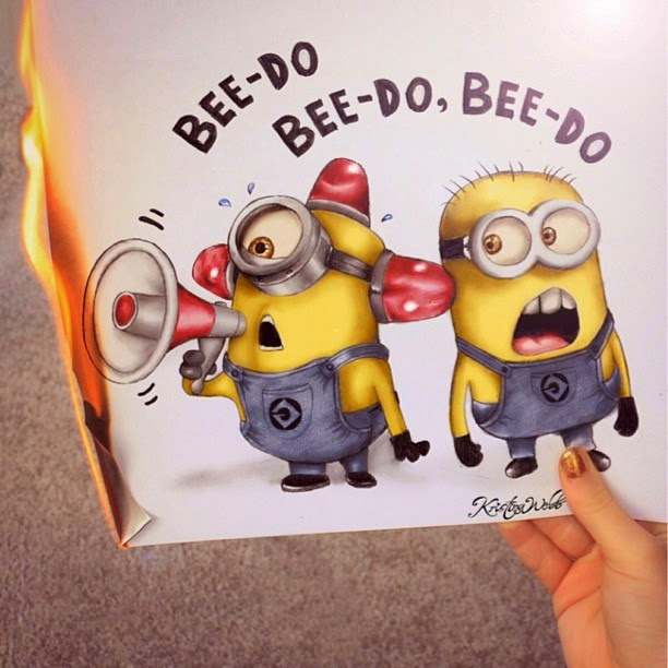 16-Minions-on-Fire-Kristina-Webb-Colour-me-Creative-Drawings-www-designstack-co