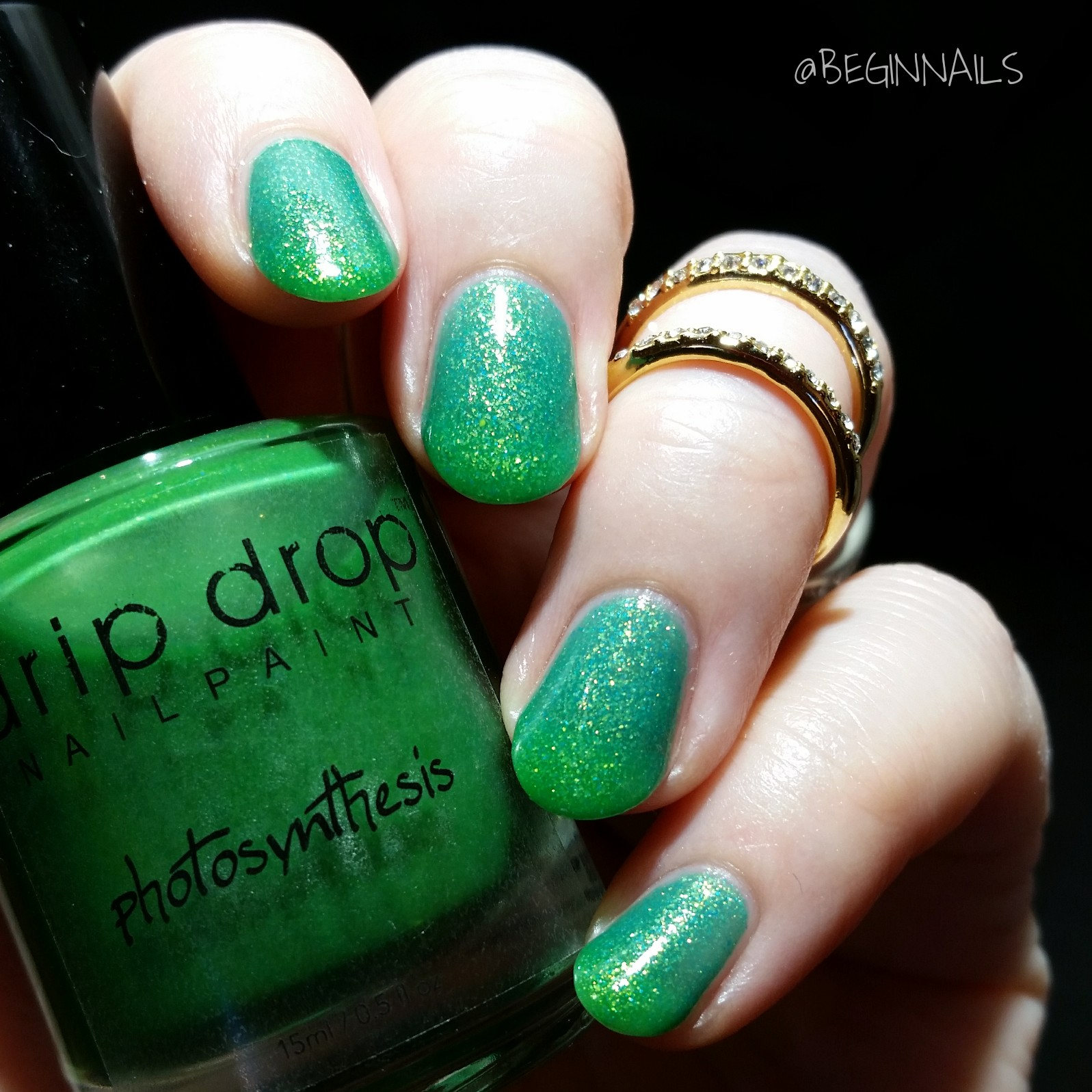 Finger Nail Paint: Let's Begin Nails: Drip Drop Nail Paint Mystery Trio