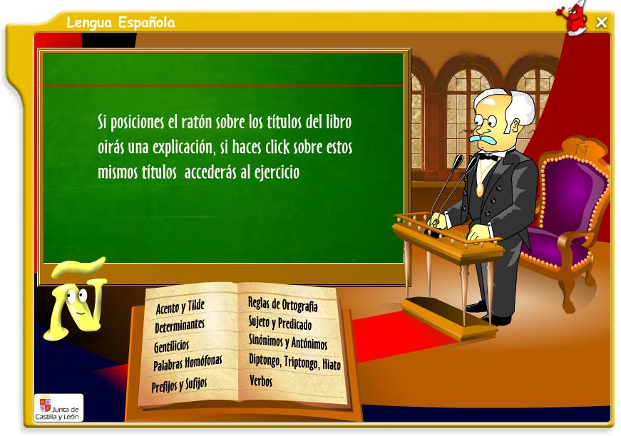 Lengua española para primaria