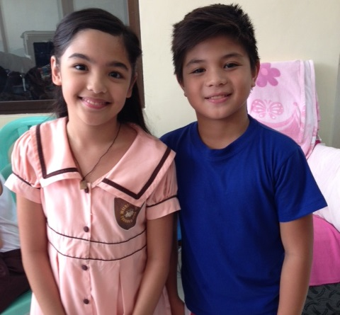 Andrea Brillantes and Bugoy Carino