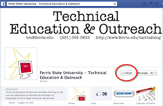 Technical Eduction & Outreach Team Facebook Page