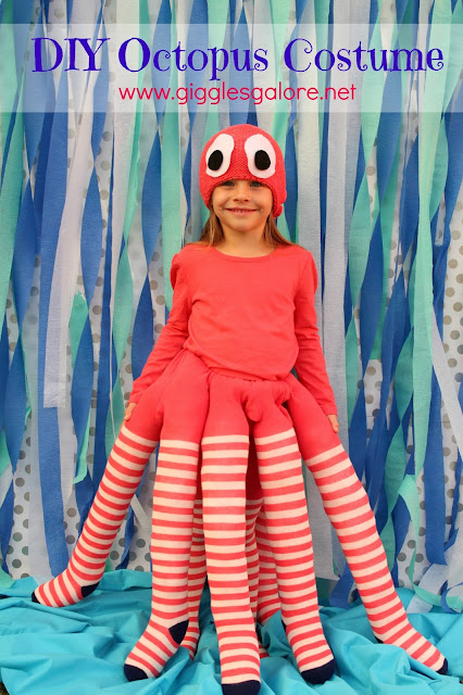 diy octopus costume