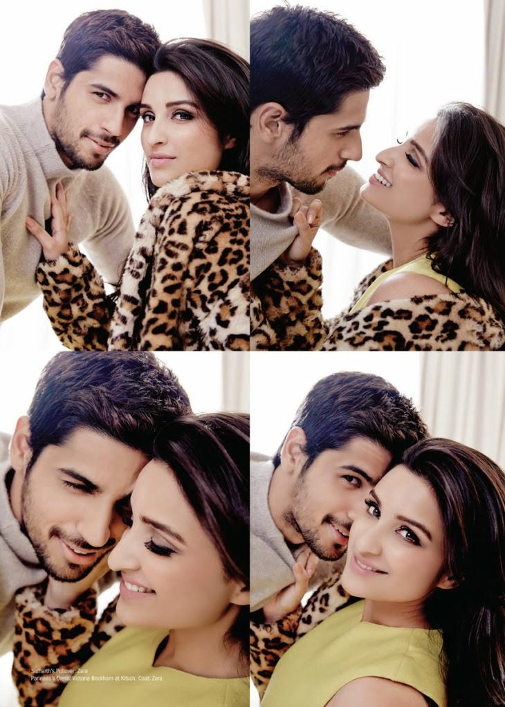 Sidharth Malhotra and Parineeti Chopra Photoshoot