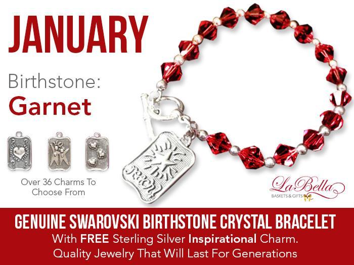 Swarovski Birthstone Crystal Bracelet