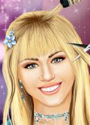 Ханна Монтана причёски - Онлайн игра для девочек