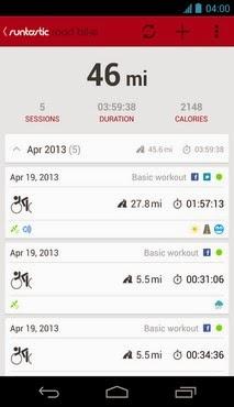 Runtastic Road Bike PRO v1.4.0 Apk Download
