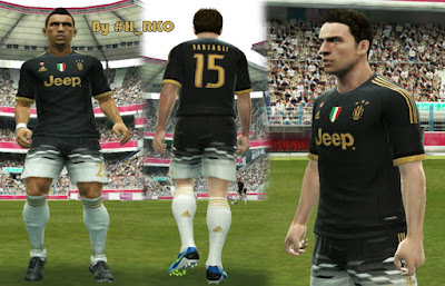 PES 2013 Juventus Third Official Kit 15/16 by Hamza RKO