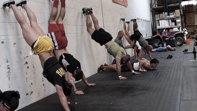 Squat Clean Workout Wall Climb And Squat Clean