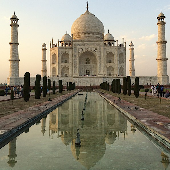 The magnificent Taj Mahal © Connie Gardner Rosenthal